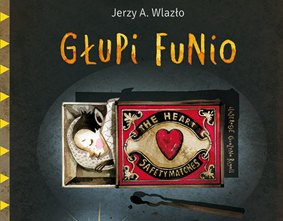 illustrations for the book Głupi Funio