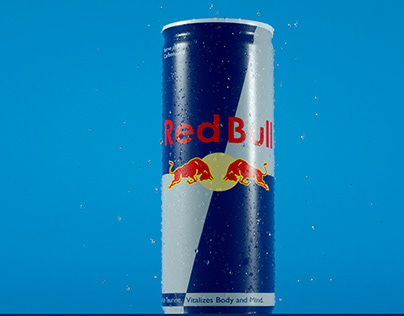 Wet Red Bull