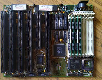 Unichip 367C Rev. 1.0 UNI-386WB motherboard