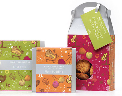 Mother Meg's biscuits – Packaging