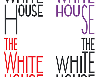 visual identity White House