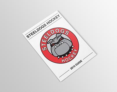 Steeldogs Hockey Publication Design
