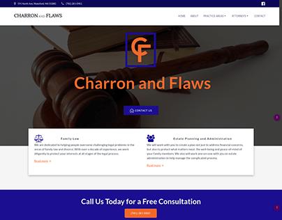 Website Design for Charron & Flaws