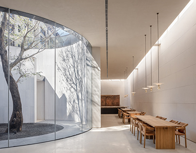 Waterfrom Design/ Tea Community Center in Xiamen