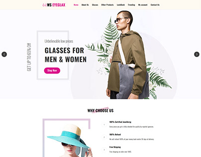 WS EyeGlax – Fashion & Accessories WordPress Theme