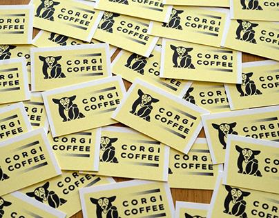 Corgi Coffee - Branding & Illustration
