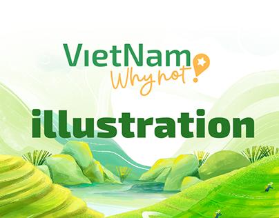 VIETNAM WHY NOT! TV SHOW_ILLUSTRATION