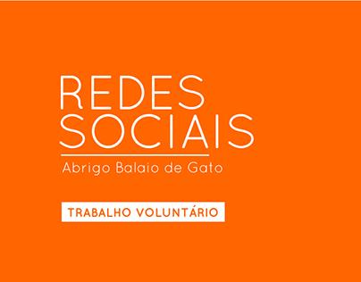 Redes Sociais - Abrigo Balaio de Gato