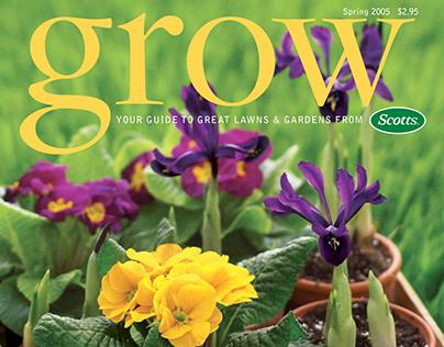 Grow magazine Art Direction | Design