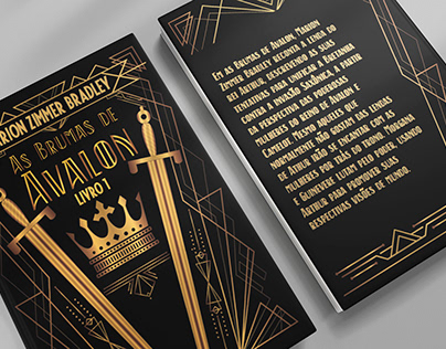 Book redesign - The Mists of Avalon