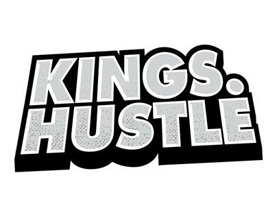 Kings Hustle Main Logo Design