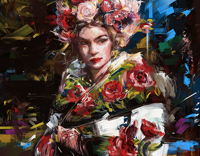 Fashion Illustration for Dolce & Gabbana