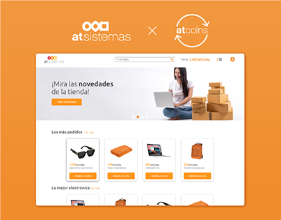 atSistemas - Corporative ecommerce