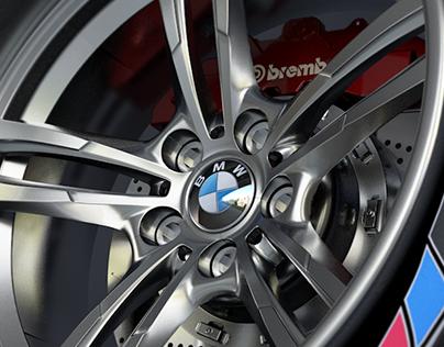 BMW M4 GTRS4 Wheels