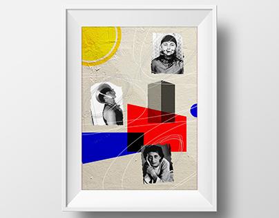 Poster | Mulheres Bauhaus 100 anos