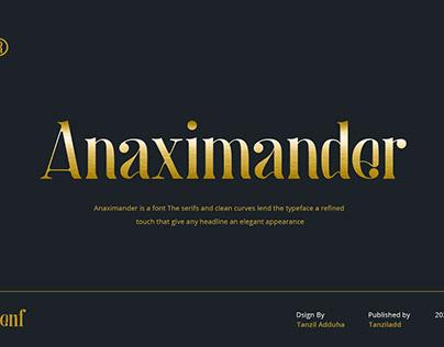 AnaximanderFont
