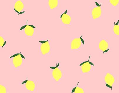 Pattern Design | lemons