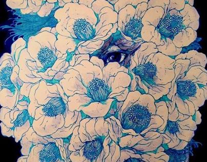 Darker blue