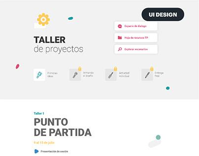 Talle de proyectos | PENT
