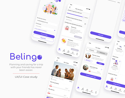 Belingo - A finance UX/UI Case study