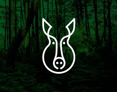 Logo wild boar