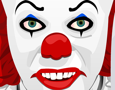 Pennywise Vector - IT Movie