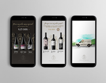 Social Media (Peralillo Wines)