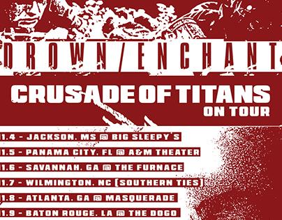 Tour Flyer: Drown/Enchant
