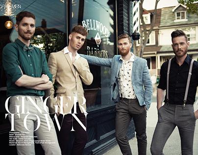 Fave Magazine Men | Ginger Town