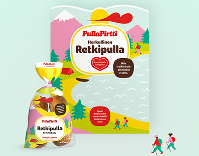 Packaging and POP- design for Pulla-Pirtti