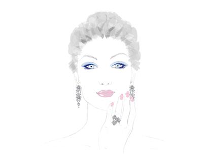 illustrazioni per Ludovica Marchegiani Brand