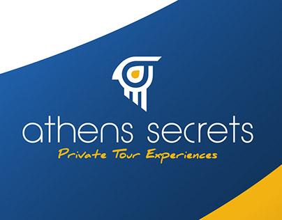 Athens Secrets   Logo Design
