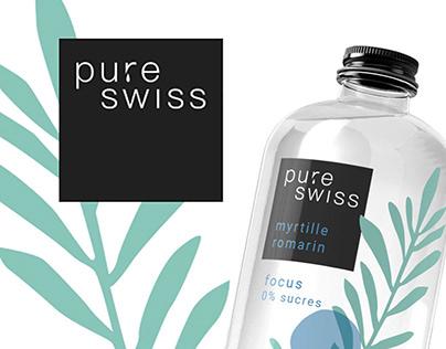 PURESWISS Rebranding