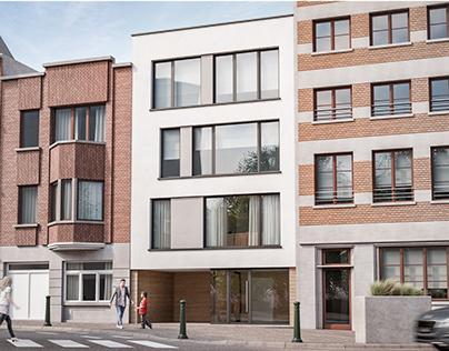 Appartments in Ganshoren (Belgium)