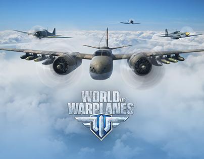 World of Warplanes game page redesign