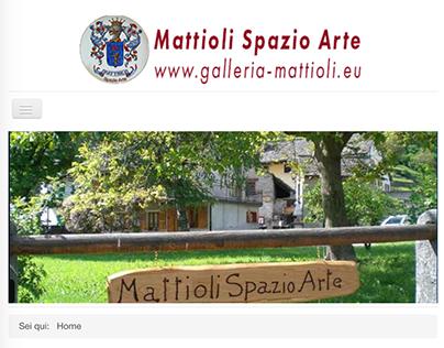 Mattioli Spazio Arte - site
