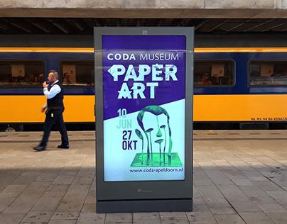 CODA Museum Paper Art