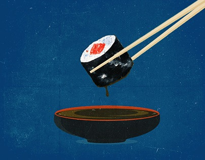 Sushi Series Illustration