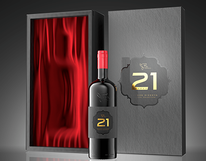CGI WINE BOTTLE