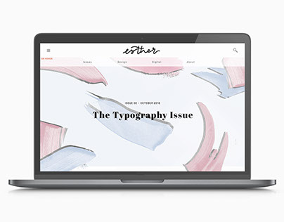 Esther Magazine - Website