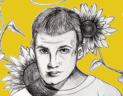 Sunflower (Rex Orange County Portrait)