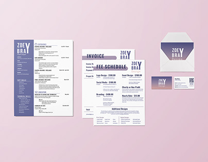 Zoey Bray Design: Personal Brand