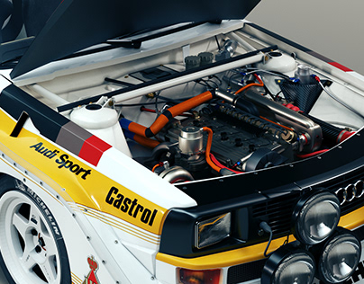 The Beast - Audi Gruppe B