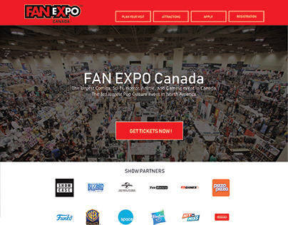 FANEXPO Wireframe | Assignment
