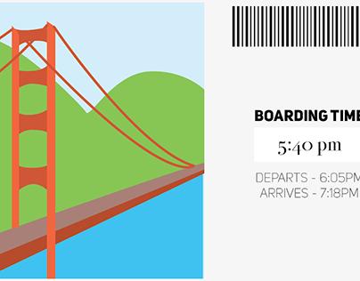 That Plane Ticket Redesign