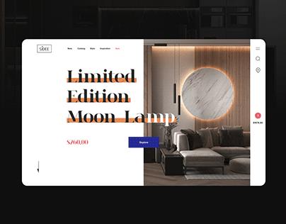 Website Concept — Furniture Online Shop