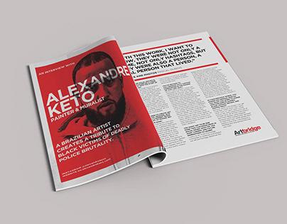 Artist Interview: Alexandre Keto