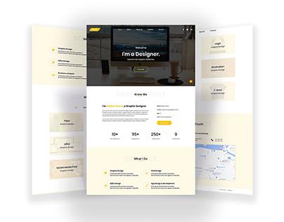 Personal Portfolio Web Ui Design