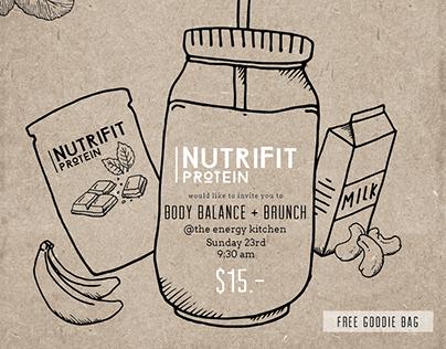 NutriFit Launch - Social media event
