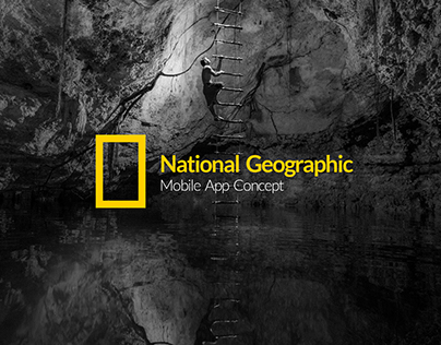 National Geographic - Mobile App Concept